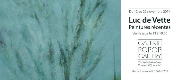 Invitation - Galerie POPO